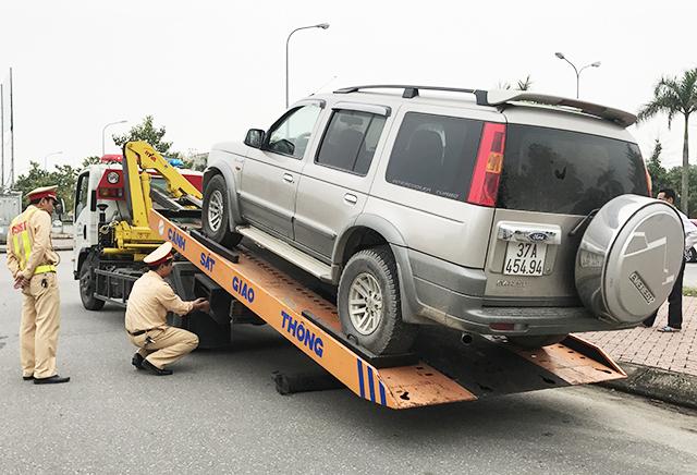 Những lỗi vi phạm bị tạm giữ xe theo Nghị định 100/2019/NĐ-CP