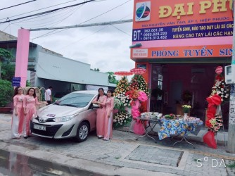 Khai Trương Phòng tuyển sinh 803 Nguyễn Văn Tạo