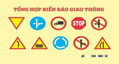 Các loại biển báo giao thông đường bộ bạn cần biết